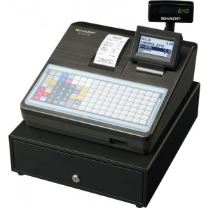 Sharp a217 Cash Register Black