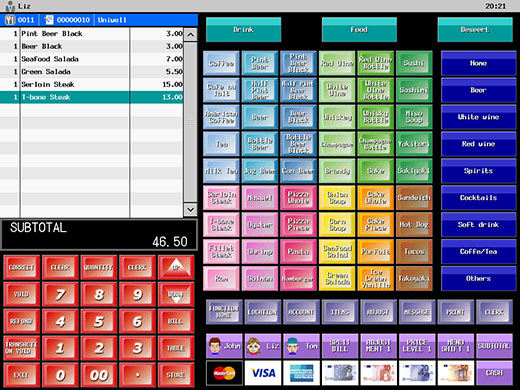 Uniwell Touchscreen Cash Register From Pospoint Ireland